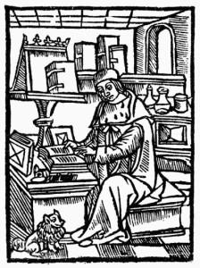medieval-writer